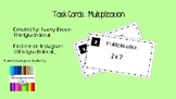 Task Cards Multiplication