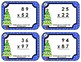Task Cards • Multiplication by a Double-Digit with Regrouping • Christmas