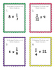 Task Cards: Multiplying Fractions and Whole Numbers NF.5.4