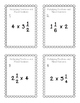 Task Cards: Multiplying Mixed Numbers and Whole Numbers NF.5.4