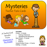 Task Cards - Mysteries