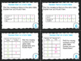 4th Grade Math Task Cards- Number Pairs and Data Tables; C