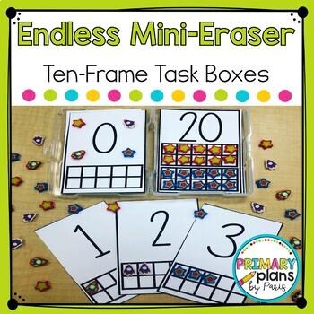 Task Cards Numbers Ten Frame