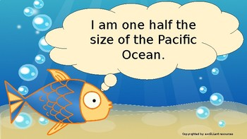 Task Cards: Ocean Facts