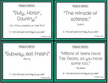 Task Cards: Opinion Piece - Persuasive Writing 4th - 6th Grade