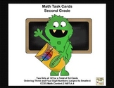 Second Grade Math Task Cards-Ordering Three-Digit Numbers