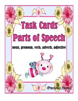 Task Cards Parts of Speech