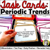 Task Cards: Periodic Trends