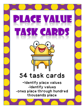 Task Cards - Place Value