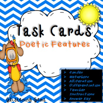 Poetic Features Task Cards