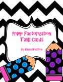 Task Cards - Prime Factorization