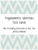 Task Cards - Proving Trigonometric Identities