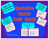 Task Cards Quotation Marks