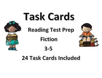 Task Cards- Reading Test Prep (Fiction)
