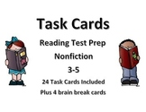 Task Cards- Reading Test Prep (Nonfiction)
