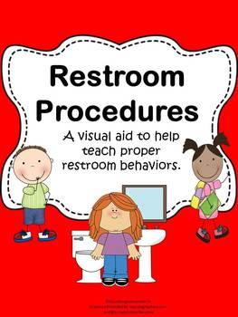 Restroom procedures by educating everyone 4 life tpt - Bathroom procedures for preschool ...