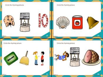 Task Cards: Rhyming Words