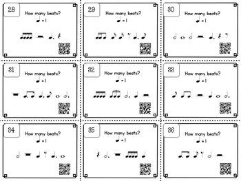 Music Rhythm Task Cards: Rhythm Set 3