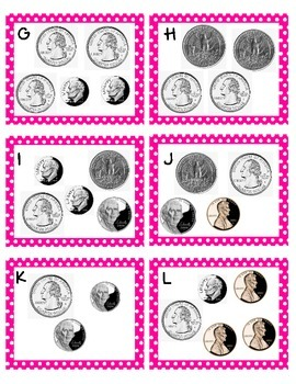 Task Cards - Counting Money