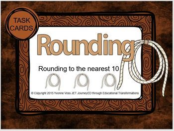 Task Cards Rope Lasso Rounding
