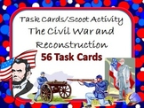 Task Cards Scoot Activity The Civil War and Reconstruction