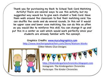Task Cards Set 1