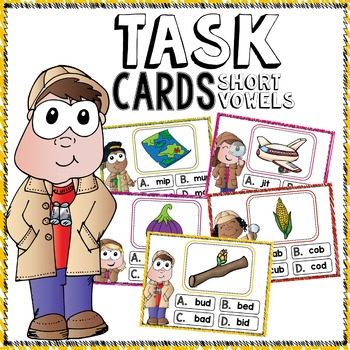 Task Cards (Short Vowels)