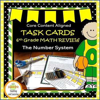 Math Task Cards - Sixth Grade Number System