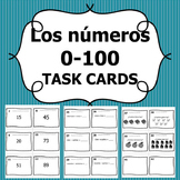 Task Cards - Spanish Numbers 0-100