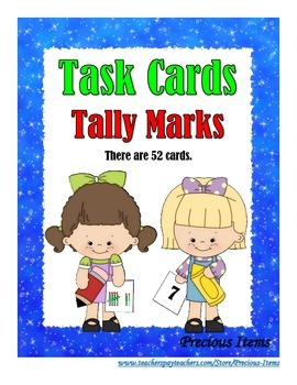 Tally Marks - Task Cards