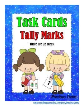 Tally Marks - Task Cards