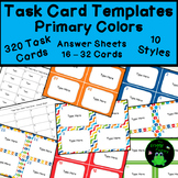 Task Card Templates - Editable