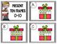 Christmas Present Task Cards {Ten and Twenty Frames}