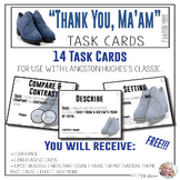 "Task Cards - ""Thank You, Ma'am"""