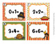 Task Cards Thanksgiving Addition Doubles and Doubles Plus One