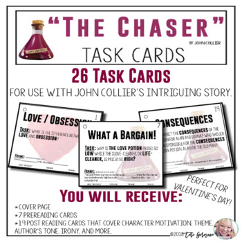 """Task Cards - """"The Chaser"""" by John Collier"""