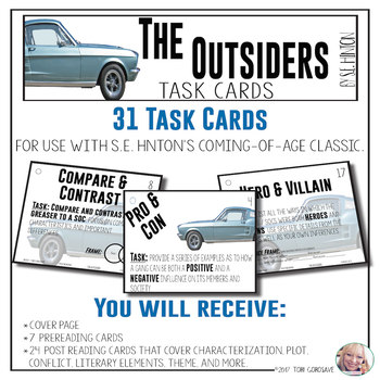 Task Cards - The Outsiders