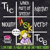 Parts of Speech Game | Nouns, Adjectives, Verbs
