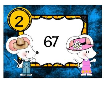Task Cards Town Mouse Country Mouse Rounding to the nearest Ten