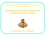 Literature Task Cards (Comparing Themes and Events)