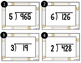 Task Cards Tribal Arrow Theme: Long Division With and With