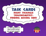Task Cards ULTRA - Right Triangle Trigonometry - Finding M