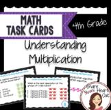 4th Grade Math Task Cards- Understanding Multiplication; C