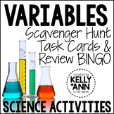 Variables Task Cards Review - Nature of Science