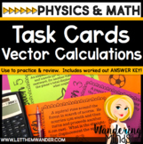 Task Cards: Vector Calculations