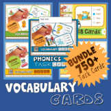 Phonics Multiple Choice Task Cards 600+ Cards (MEGA BUNDLE)