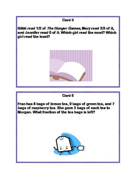 Task Cards Word Problems Grades 4-5 Common Core