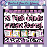 Writer's Journal Task Cards {Story Theme}