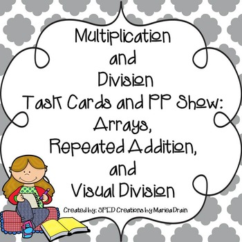 Arrays, Repeated Addition, and Visual Division: Task Cards