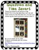 Task Cards and Time Savers